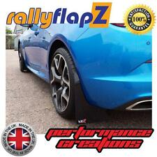 Rally Style Mudflaps OPEL ASTRA J GTC OPC Mud Flaps RallyflapZ Black 4mm PVC