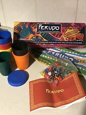 Perudo Liars Dice / Board Game Complete 'Aztec / Indian Head' Dice Party