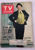 1962 TV Guide November 3  Stanley Holloway of Our Man Higgins; Chris Boyer Pit.