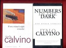 2 Italo Calvino books: If On A Winter's Night a Traveler + Numbers In The Dark