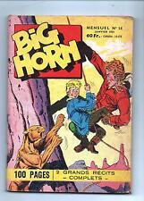BIG HORN n°14- Editions SER Lyon. 1959 - TBE