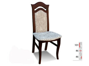 Solid Wood Chair Dining Designer Leather Room K45