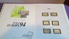 hojas sellos europa cept, Efilcar especial 1994.