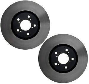 NEW Pair Set of 2 Front Disc Brake Rotors ACDelco For Acura MDX ZDX Honda Pilot