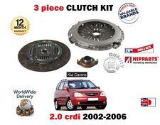 für Kia Carens 2.0 CRDi MPV D4EA 113bhp 2002-3/2006 NEU 3-tlg. Kupplungssatz