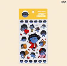 KOREA KAKAO FRIENDS Character Stickers Epoxy Sticker Scrapbooking Stickers-NEO