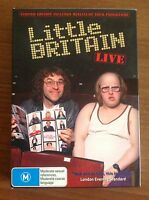 LITTLE BRITAIN LIVE DVD PACK Limited EDITION WITH mini Tour Programme