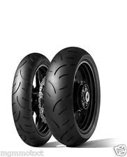 COPPIA GOMME PNEUMATICI DUNLOP 120/70 17 180/55 17 QUALIFIER 2 II BMW F 800 ST
