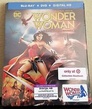 Wonder Woman Commemorative Edition Steelbook Target Exclusive DC Universe Batman