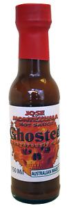Gourmet Ghosted Hot Sauce (Extreme Heat) 150ML Chili Ghost & Carolina Reaper