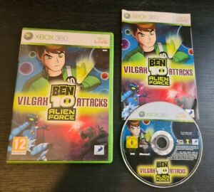 Ben 10 Alien Force Vilgax Attacks (Xbox 360) Boxed with manual. GC. Free P+P.