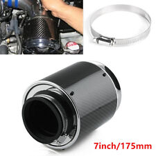 7inch/175mm Carbon Fiber Look Hi-Flow Air Filter For Cold Air/Short Ram Intakes