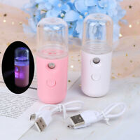 USB Portable Nano Mist Spray Atomization Mister Face Facial Moisturizing Handy