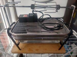 Farberware Open Hearth Electric Broiler Rotisserie BBQ Grill Excellent Conditi