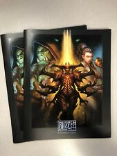 Blizzard Blizzcon 2011 Program WOW Starcraft Foo Fighters Panderia