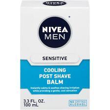 New NIVEA Men Sensitive Cooling Post Shave Balm 3.3 Fl. Oz.