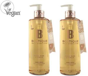 Boutique Amber, Musk & Vanilla Hand Wash 1 x 500ml