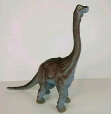 2001 Brachiosaurus Dinosaur Hard Plastic Approx 11 Inches By 12 inches
