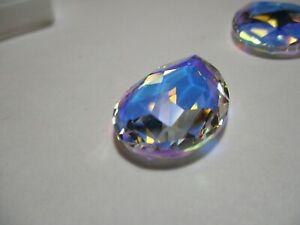2 Swarovski 30x20 mm  Crystal Aurore Boreale Stone  Art 4327