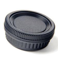 Rear Lens Cap Cover + Camera Body Cap Cover for Pentax PK Mount Camera DSLR K6