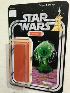 TRASH MONSTER CUSTOM CARD BACK KIT HOME YOUR VINTAGE 1979 DEATH STAR PLAY figure