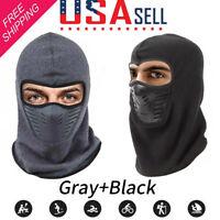 Unisex Adult Balaclava Face Mask ColdWeather Windproof Fleece Outdoor Ski Sports