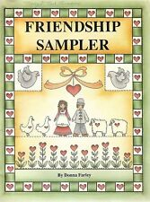 Donna Farley : FRIENDSHIP SAMPLER Painting Book - OOPS!