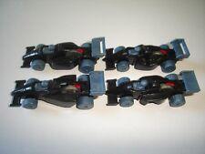 BLACK FORMULA 1 1990 MODEL CARS SET 1:87 H0 - KINDER SURPRISE PLASTIC MINIATURES