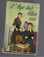 L'AGE DES AILES BERTHE BERNAGE GAUTIER LANGUEREAU 1954  Brigitte Bardot