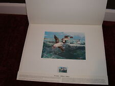 """Alabama """"Friends of Scouting"""" Stamp & Waterfowl Print by William C. Morris New"""
