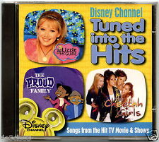DISNEY CHANNEL - TUNED INTO THE HITS (CD, 2004)