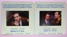2 1997 Snake Eyes Movie 35mm Slides Nicolas Cage Gary Sinise Attila Dory Photos3
