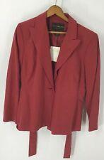 Women's Jacket Blazer Size 12P Harris Wallace Silk Blend Lined New
