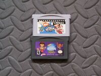Lot Nintendo Game Boy Advance GBA Video + Game Adventures of Jimmy Neutron