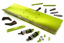 Integy Snow Plow Blade Kit Axial Yeti XL 1/8 Scale RC 4x4 Monster Truck Green