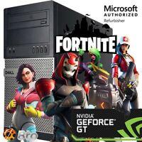 Dell i5 Gaming Computer PC 16GB 500GB 120GB SSD WiFi WIN 10 Nvidia GT1030 HDMI