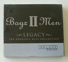 RARE Boyz II Men - Legacy - The Greatest Hits 2 CD set Collection - 34 tracks!