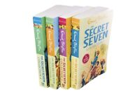 The Secret Seven 4 Book 12 Story Collection By Enid Blyton- Paperback - GIFT