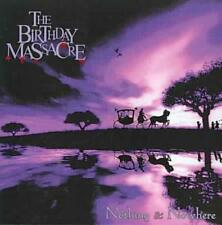 THE BIRTHDAY MASSACRE - NOTHING & NOWHERE USED - VERY GOOD CD