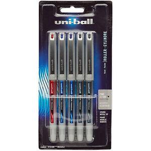 tinta azul 6 X SXN-155 0.5mm Uni-ball JetStream Bolígrafo de Gel de bola de rodillo lavanda