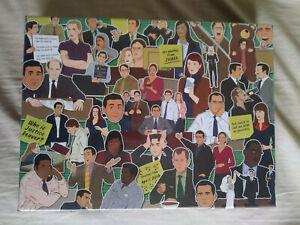 The Office TV show 500 Piece puzzle new Shrink Wrap Steve Carell Rainn Wilson