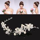 Silver Crystal Pearl Flower Wedding Bridal Hair Pin Hair Band Clip Headband Comb