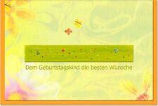 Karten & Schreibwaren mit Schmetterlinge für Geburtstag, Erwachsener