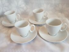 GUY DEGRENNE SET 4 ESPRESSO CUP & SAUCERS *** NEW & BOXED ***