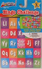 Game BINGO LETTERS Alphabet Learning Educational Family Fun