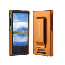 Tranesca rubber cover shell case w belt clip for iPod Nano 7 case Sunset Orange