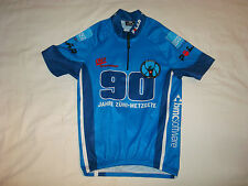 OLE Polar BMCsoftware EKZ Swiss Men's S/S Cycling Jersey S Blue - EUC