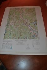 1940's Army (like USGS) topographic map Tyngsboro, Massachusetts - 6769 III NE
