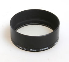 58MM UV FILTER IN METAL LENS HOOD