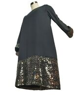 Erin Fetherston Women's  Dress With Gold Sequins Size 0
